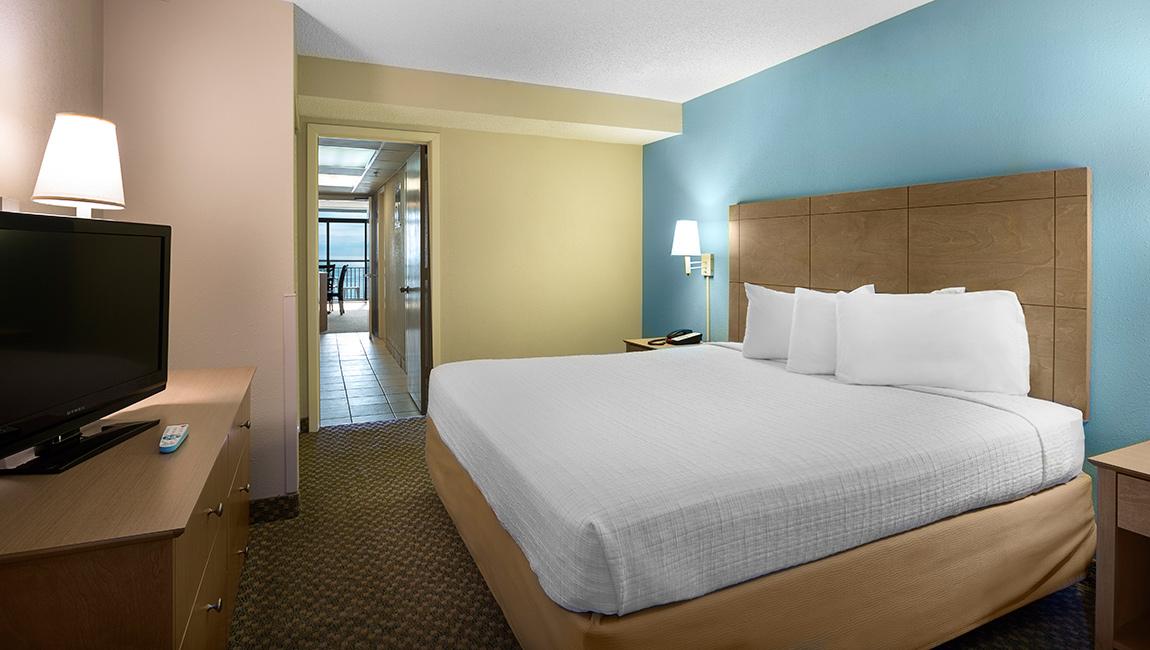 Landmark Resort Deluxe King Oceanfront Suite