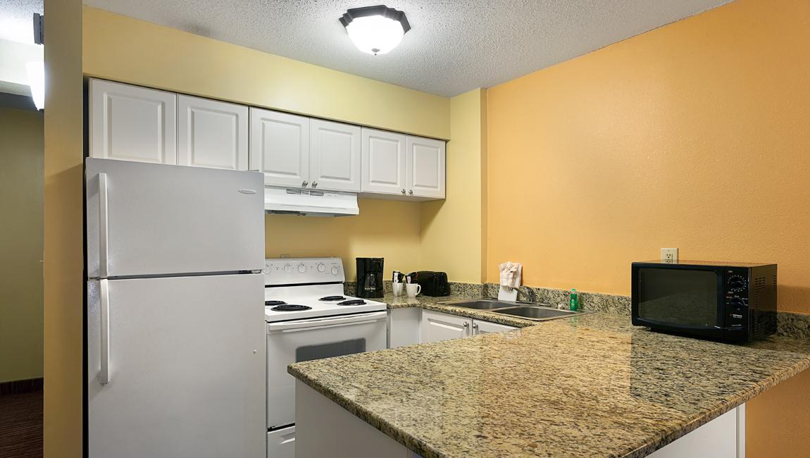Oceanfront Efficiency Kitchen