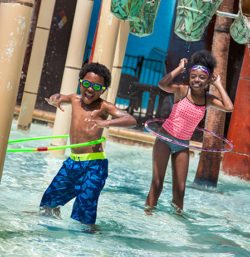 Kids at the Waterpark