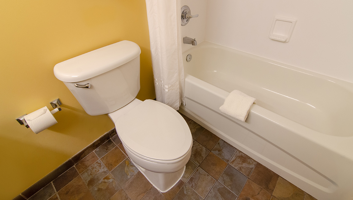 Room Bathroom - Toilet and Tub