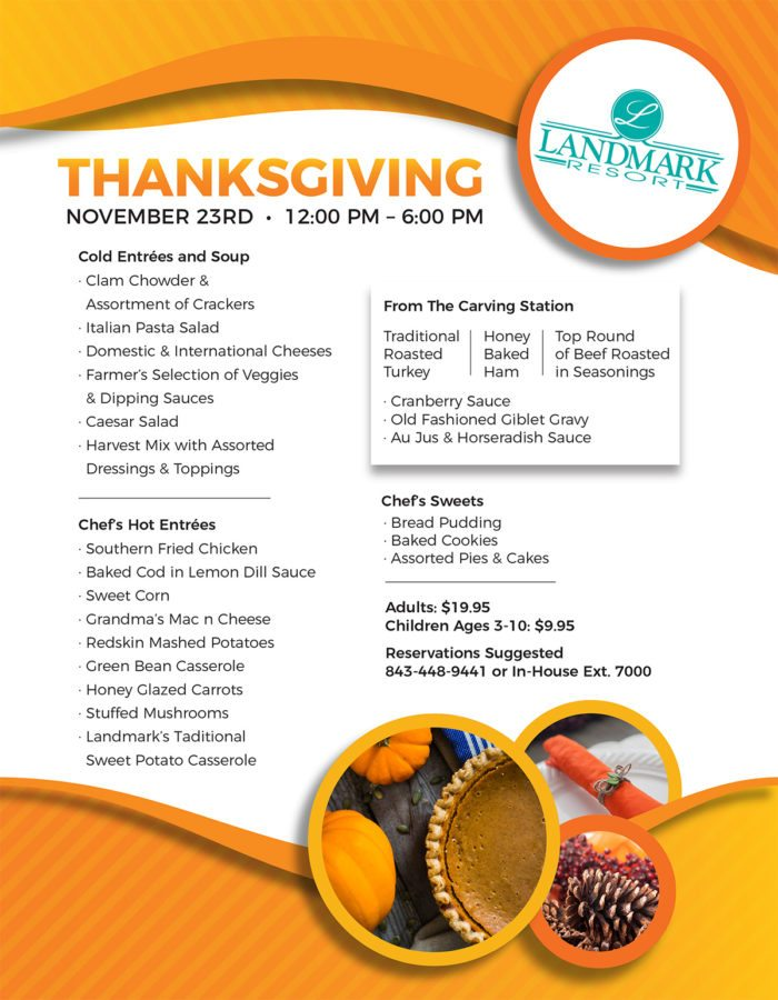 Landmark Resort Thanksgiving 2017