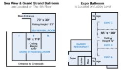 Ballrooms & Meeting Space at Landmark Resort