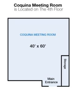 Coquina Meeting Room Landmark Diagram
